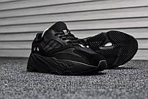 Кроссовки мужские черные Adidas Yeezy 700 Wave Runner (реплика), фото 2