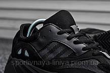 Кроссовки мужские черные Adidas Yeezy 700 Wave Runner (реплика), фото 3