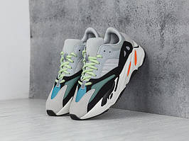 Яркие кроссовки Adidas Yeezy Wave Runner 700 Solid Grey Chalk (Адидас Изи Буст 700 V2)