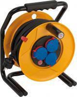 Удлинитель на катушке 25 метров; 3 розетки; H07RN-F 3G1,5; Bretec®