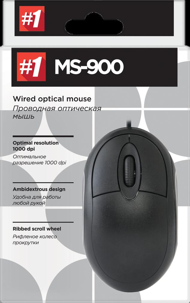 Мышь для ноутбука, ПК Defender #1 MS-900