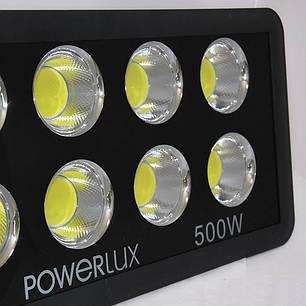 Светодиодный прожектор Powerlux 500Вт, 6500К, IP65., фото 2
