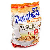 """Пластівці мультизерновые з пшеничними зародками """"Витьба"""", 250г"""