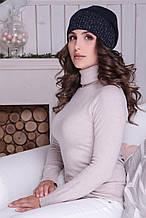 Женская шапка «Кармен» с люриксом