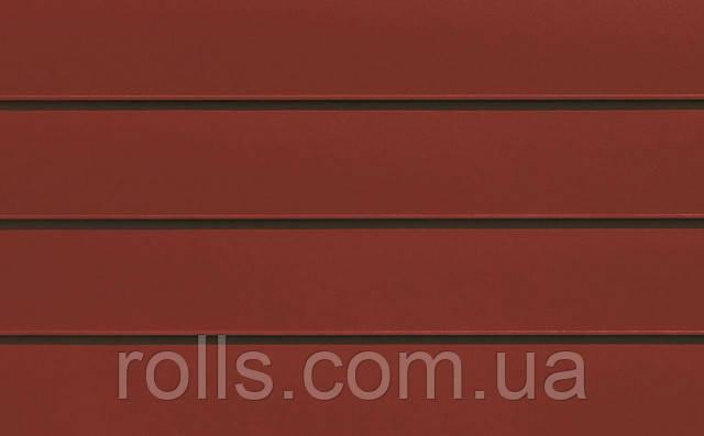 "Лист алюминиевый плоский PREFALZ Р.10 №05 OXYDROT ""КРАСНЫЙ ОКСИД"" RAL3009 OXIDE RED 0,70х1000х2000мм лист рифленый алюминиевый дизайн интерьера фальцевая кровля крыша алюминиевый фасад Prefa в Украине ""РОЛЛС ГРУП"" www.rolls.com.ua"