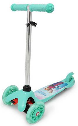 Трехколесный самокат ScooTer детский - Mini - Frozen, фото 2