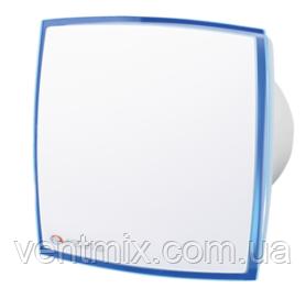 Вентилятор вытяжной ВЕНТС  125 ЛД Лайт (подсветка синяя)