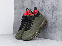 Кроссовки Nike Air Max 95 Sneakerboot Olive Red Cargo Khaki  , фото 1