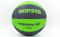 М'яч баскетбольний KIPSTA 7140 ( р-р №5, гума, бутил, оранж) (шт.)