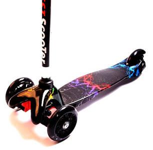 Трехколесный самокат Scooter - Mini Print - Молния, фото 2