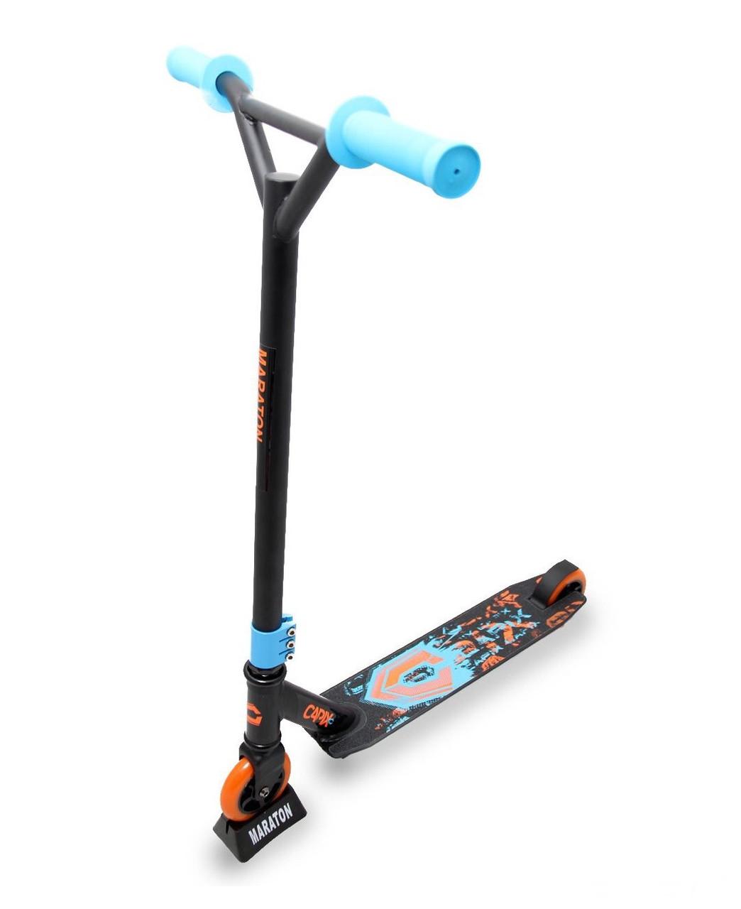 Трюковой Самокат Maraton - CapiX - Orange/Blue