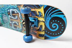 Скейтборд деревянный-канадский клен FISH - Neptune 79см, фото 2