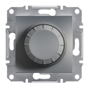 Rotary Dimmer/600RL/2-way/illuminated (MTN5133-0000+Led module), wo frame, steel