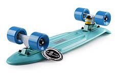"""Скейт Пенни борд Penny Board Пенні Fish Skateboard 22.5"""" Aqva- Аква 57см, фото 2"""