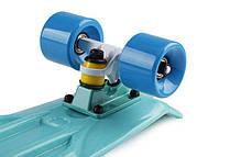 """Скейт Пенни борд Penny Board Пенні Fish Skateboard 22.5"""" Aqva- Аква 57см, фото 3"""