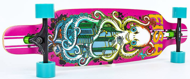 "Лонгборд Fish Skateboards 38"" - Octopus 96 см"