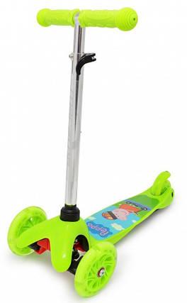 Трехколесный самокат ScooTer детский - Mini - Peppa, фото 2