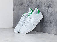 Кроссовки Adidas Stan Smith White Green  , фото 1