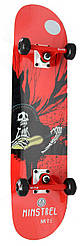 Скейтборд классический-трюковой MITE / Monsters - Ministrel 79 см скейт