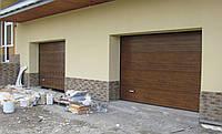 Монтаж секционных ворот и автоматики в гараж