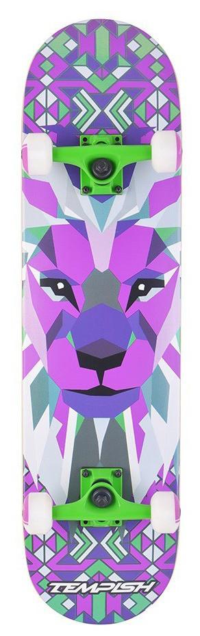 Скейтборд трюковой Tempish - LION - Purple