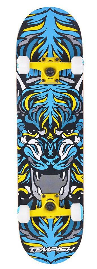 Скейтборд трюковой Tempish Tiger - Yellow