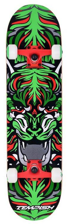 Скейтборд трюковой Tempish TIGER - Green