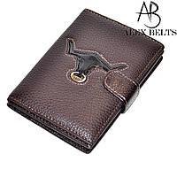 Обложка для автодокументов и паспорта ( коричневая) заменитель-купить оптом в Одесе