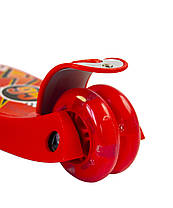 Трехколесный детский Самокат для мальчика MicMax - Maxi Disney - Тачки, фото 3