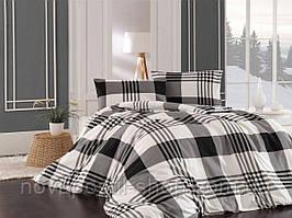 Комплект постельного белья фланель Mary Евро размер
