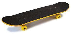 Скейт для трюков - SK8 - Yellow SKATE скейтборд трюковой, фото 3