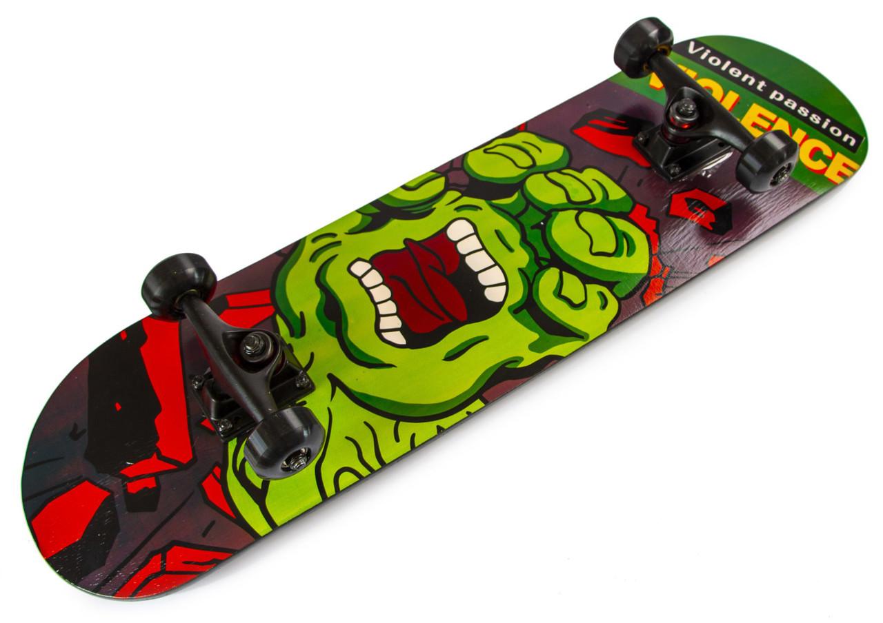 Скейт для трюков - SK8 - HALK скейтборд трюковой
