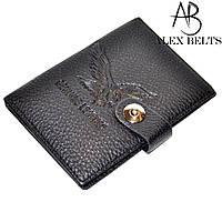 Обложка для автодокументов и паспорта (черный) заменитель-купить оптом в Одесе, фото 1