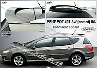 Спойлер Peugeot 407