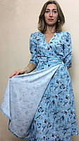 Женское платье на запах миди П228, фото 1