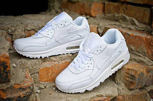 Кроссовки Nike Air Max 90 White Leather