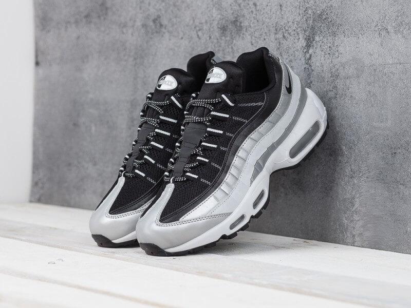 6fe3f92c Кроссовки Nike Air Max 95 Silver Black - Интернет магазин обуви «im-РоLLi»