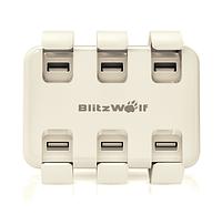 Настольное зарядное устройство BlitzWolf 6 портов 50 Вт, фото 1