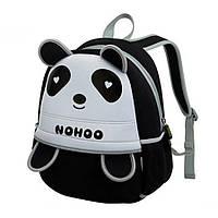 Дитячий Рюкзак Nohoo Чорна Панда 34х24х15 см (NH013-2-11)