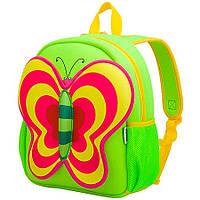 Дитячий Рюкзак Nohoo Зелена Метелик 35*30*14 см (NH014-1-22)
