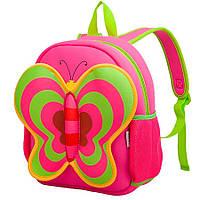 Дитячий Рюкзак Nohoo Рожева Метелик 35*30*14 см (NH014-3-24)