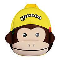 Дитячий Рюкзак Nohoo Коричнева Мавпа 30,5х23х10,5 см (NH021-1-44)