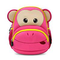 Детский Рюкзак Nohoo Розовая Обезьяна 31,5х27х16 см (NH020-2-42), фото 1