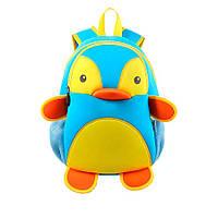 Школьный Рюкзак Nohoo Голубой Пингвин 35х25,5х14 см (NH011-3-52), фото 1