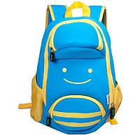 Детский Рюкзак NoHoo Смайлик Голубой (NH001), фото 1