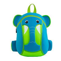 Детский Рюкзак NoHoo Голубой Слоник (NH015-3)