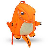 Дитячий Рюкзак Nohoo Помаранчевий Динозаврик Великий 31х25х9,5 см (NH029L-1), фото 1
