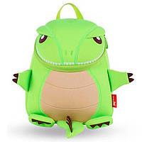 Детский Рюкзак Nohoo Зеленый Динозаврик Большой 31х25х9,5 (NH029L-2), фото 1