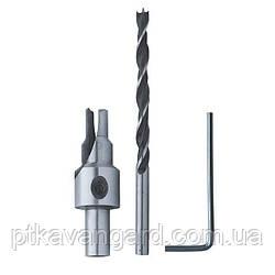 Сверло конфирматное 4,5 / 7,0 мм INTERTOOL SD-0245