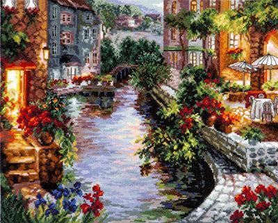 Набор для вышивки крестом Чудесная игла 46-02 «Вечер в Венеции»